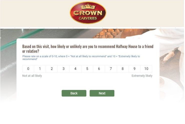 Crown Carveries Survey
